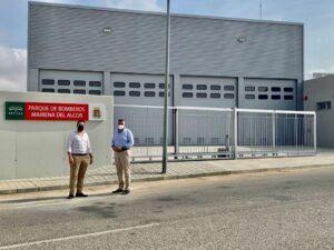 Foto Tr Construya de Finalizan las obras del nuevo parque de bomberos de Mairena del Alcor 1